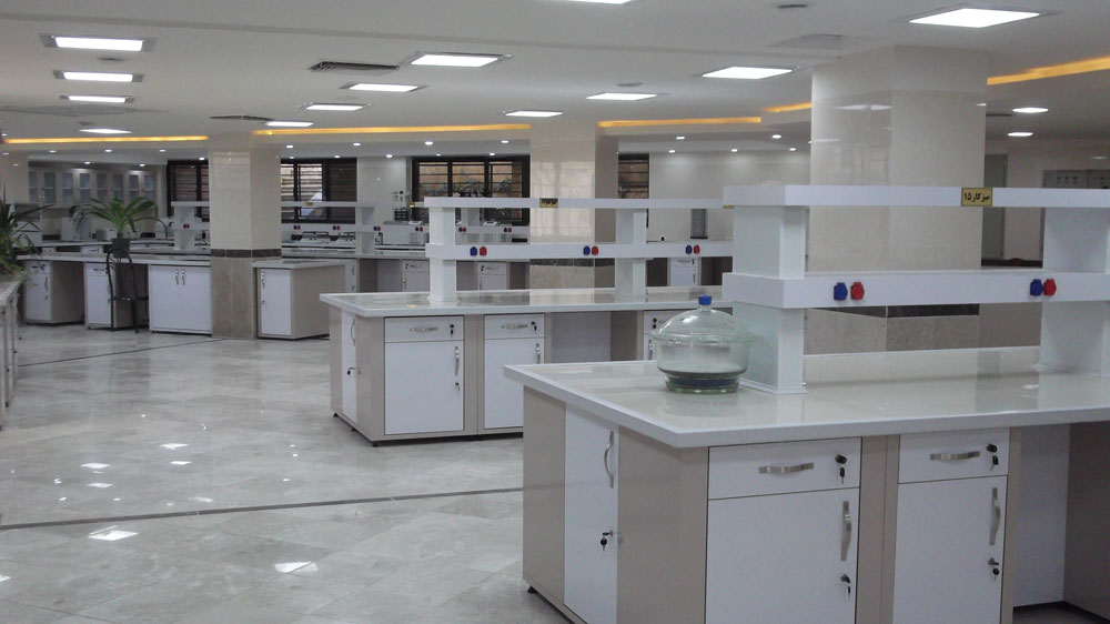 کابینت بندی آزمایشگاه دو طرفه